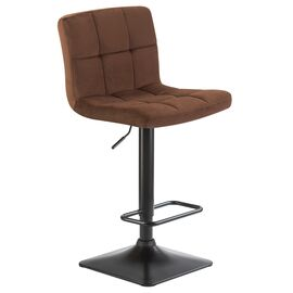 Барный стул LM-5018 шоколадный  DOBRIN, Цвет товара: Шоколад, изображение 2