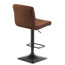 Барный стул LM-5018 шоколадный  DOBRIN, Цвет товара: Шоколад, изображение 4