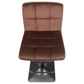 Барный стул LM-5018 шоколадный  DOBRIN, Цвет товара: Шоколад, изображение 7