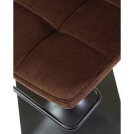 Барный стул LM-5018 шоколадный  DOBRIN, Цвет товара: Шоколад, изображение 8
