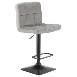 Барный стул LM-5018 серый DOBRIN, Цвет товара: Серый, изображение 2