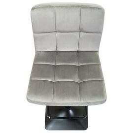 Барный стул LM-5018 серый DOBRIN, Цвет товара: Серый, изображение 7