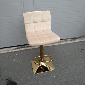 Барный стул LM-5016 бежевый DOBRIN, Цвет товара: Бежевый, изображение 9