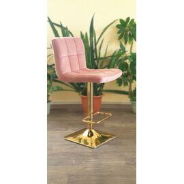 Барный стул LM-5016 пудрово-розовый DOBRIN, Цвет товара: Пудрово-розовый, изображение 9