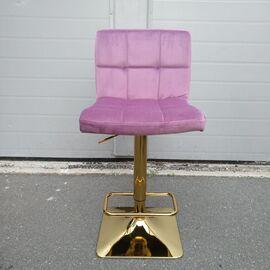 Барный стул LM-5016 пудрово-сиреневый DOBRIN, Цвет товара: пудрово-сиреневый, изображение 10