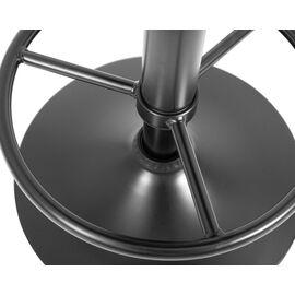 Барный стул LM-5008 Черный велюр/Черный DOBRIN, Цвет товара: Черный, изображение 3