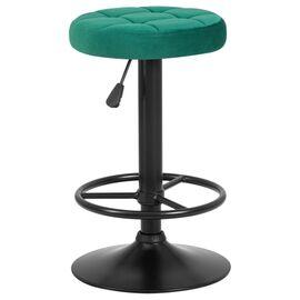 Барный стул LM-5008 зеленый велюр/Черный DOBRIN, Цвет товара: Зеленый, изображение 2
