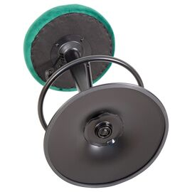 Барный стул LM-5008 зеленый велюр/Черный DOBRIN, Цвет товара: Зеленый, изображение 3