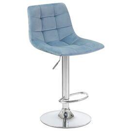 Барный стул LM-5017 пудрово-голубой DOBRIN, Цвет товара: пудрово-голубой, изображение 2