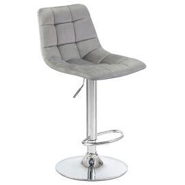 Барный стул LM-5017 серый DOBRIN, Цвет товара: Серый, изображение 2