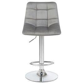 Барный стул LM-5017 серый DOBRIN, Цвет товара: Серый, изображение 6
