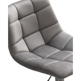 Барный стул LM-5017 серый DOBRIN, Цвет товара: Серый, изображение 7