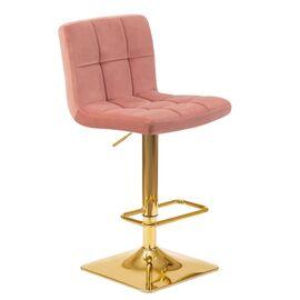 Барный стул LM-5016 пудрово-розовый DOBRIN, Цвет товара: Пудрово-розовый, изображение 2