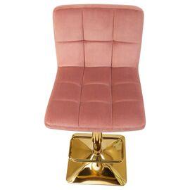 Барный стул LM-5016 пудрово-розовый DOBRIN, Цвет товара: Пудрово-розовый, изображение 7