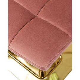 Барный стул LM-5016 пудрово-розовый DOBRIN, Цвет товара: Пудрово-розовый, изображение 8