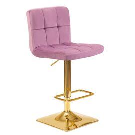 Барный стул LM-5016 пудрово-сиреневый DOBRIN, Цвет товара: пудрово-сиреневый, изображение 2