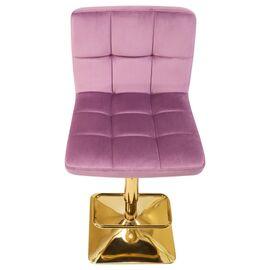 Барный стул LM-5016 пудрово-сиреневый DOBRIN, Цвет товара: пудрово-сиреневый, изображение 7