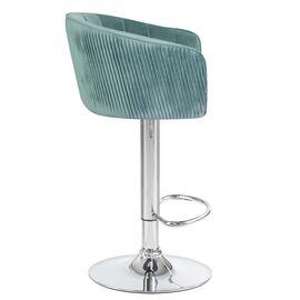 Барный стул LM-5025 мятный DOBRIN, Цвет товара: мятный, изображение 2