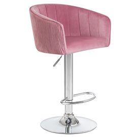 Барный стул LM-5025 розовый DOBRIN, Цвет товара: Розовый, изображение 2