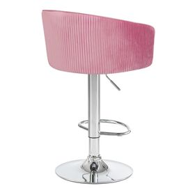 Барный стул LM-5025 розовый DOBRIN, Цвет товара: Розовый, изображение 4