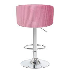 Барный стул LM-5025 розовый DOBRIN, Цвет товара: Розовый, изображение 5