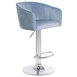 Барный стул LM-5025 серо-голубой DOBRIN, Цвет товара: серо-голубой, изображение 2