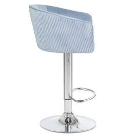 Барный стул LM-5025 серо-голубой DOBRIN, Цвет товара: серо-голубой, изображение 3