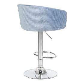 Барный стул LM-5025 серо-голубой DOBRIN, Цвет товара: серо-голубой, изображение 4