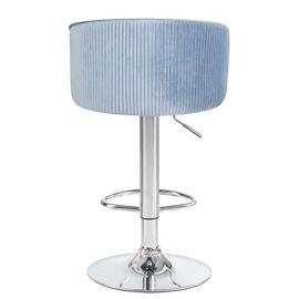 Барный стул LM-5025 серо-голубой DOBRIN, Цвет товара: серо-голубой, изображение 5