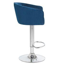 Барный стул LM-5025 синий DOBRIN, Цвет товара: Синий, изображение 2