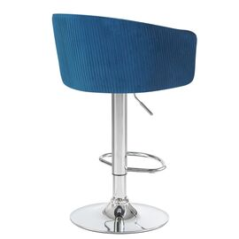 Барный стул LM-5025 синий DOBRIN, Цвет товара: Синий, изображение 3