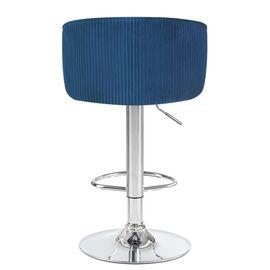 Барный стул LM-5025 синий DOBRIN, Цвет товара: Синий, изображение 4