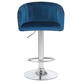 Барный стул LM-5025 синий DOBRIN, Цвет товара: Синий, изображение 5