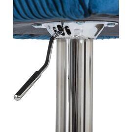 Барный стул LM-5025 синий DOBRIN, Цвет товара: Синий, изображение 7
