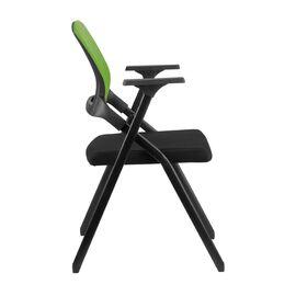 Офисное кресло складное для посетителей Riva Chair M2001 Зелёное складное, Цвет товара: Зеленый, изображение 3