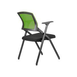 Офисное кресло складное для посетителей Riva Chair M2001 Зелёное складное, Цвет товара: Зеленый, изображение 4