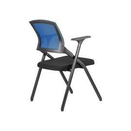 Офисное кресло складное для посетителей Riva Chair M2001 Синее складное, Цвет товара: Синий, изображение 4