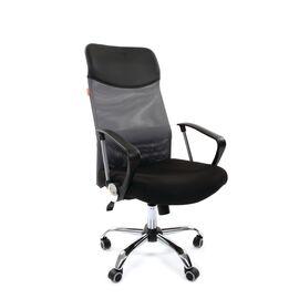 Компьютерное кресло для руководителя Chairman 610 Серый, Цвет товара: Серый