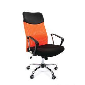 Компьютерное кресло для руководителя Chairman 610 Оранжевый, Цвет товара: Оранжевый