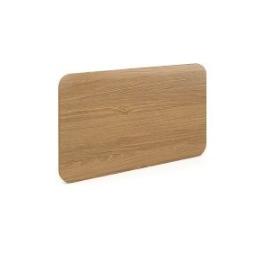 Перегородка для стола с крепежным элементом Alba ( Эдем ) AL-5.0 Дуб Сантана  660х400х18, Цвет товара: Дуб Сантана