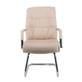 Кресло-конференц Everprof Bond CF Экокожа Бежевый, Цвет товара: Бежевый, изображение 3