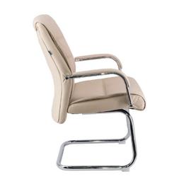 Кресло-конференц Everprof Bond CF Экокожа Бежевый, Цвет товара: Бежевый, изображение 4