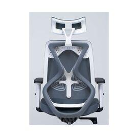 Кресло офисное Norden Имидж gray / белый пластик / серая сетка / серая ткань, изображение 5