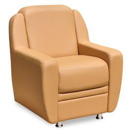 Кресло для офиса Кронос 850х800х900 Кожа Alfa, Цвет товара: Madras 1002