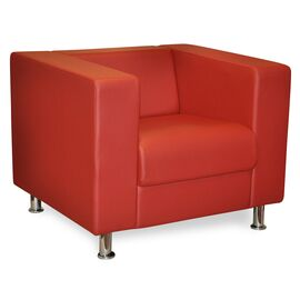 Кресло Меркурий 920х830х700 Экокожа Alfa, Цвет товара: Oregon 32