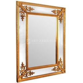 Зеркало настенное в раме Lord Gold (Лорд) Art-zerkalo, изображение 2