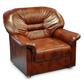 Кресло Тильда 930х900х920 Кожа Alfa, Цвет товара: Madras 2012