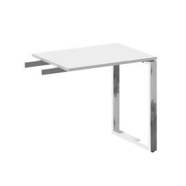 Брифинг-приставка Metal system direct Riva БО.ПР-2 Белый 800*600*750, Цвет товара: Белый