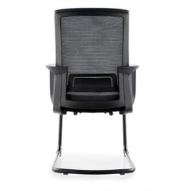 Кресло для посетителей Norden Интер CF / черная краска / черная сетка / черная ткань, изображение 6