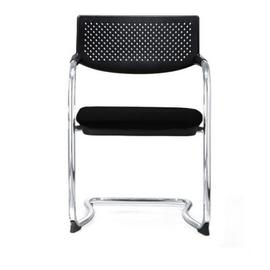 Кресло для посетителей Norden Самба black CF / хром / черный пластик / черная ткань, изображение 3